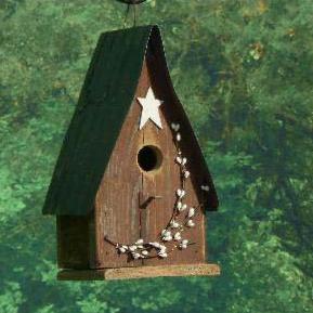BTRBH berry tin roof Birdhouse