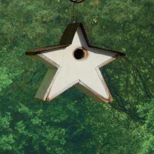 STRBH star tin roof birdhouse