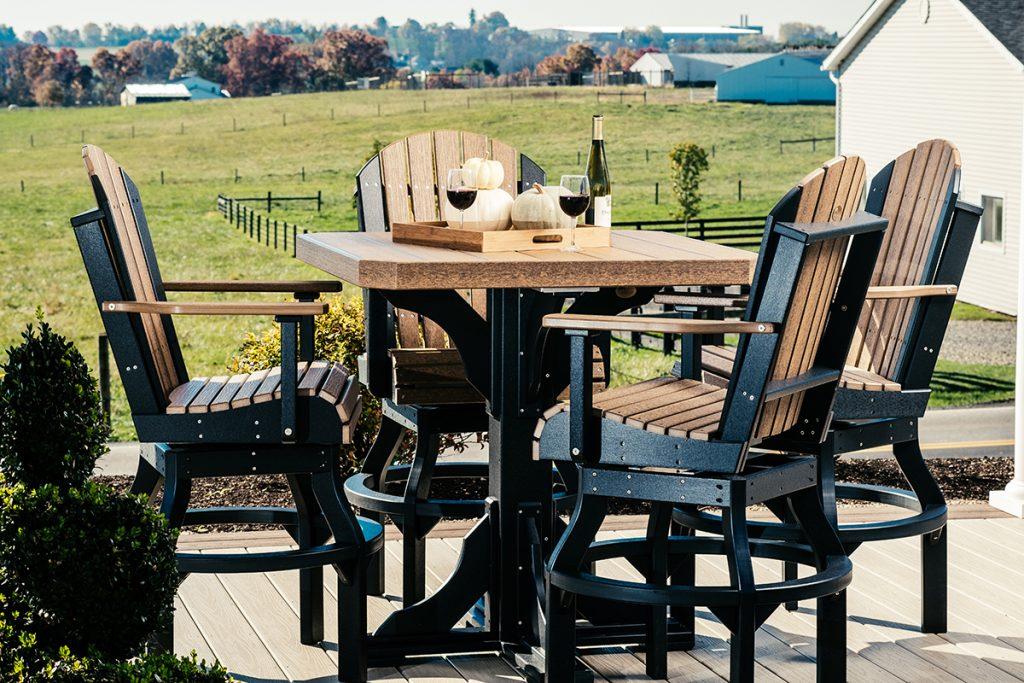 poly 41 square table set 2 bar height antique mahogany black 1024x683 1