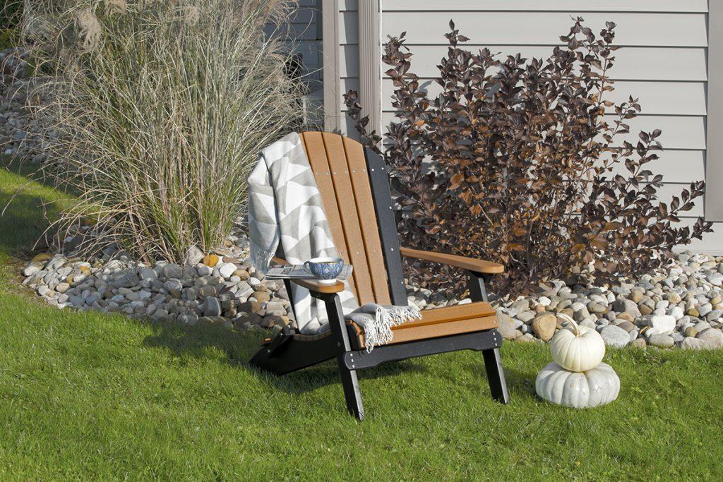 poly folding adirondack chair cedar black 1024x683 1