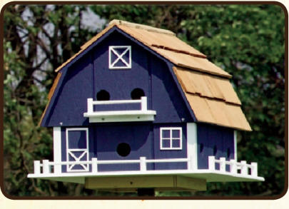 large barn martin house