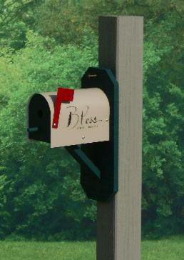 mwh mailbox wrenhouse green