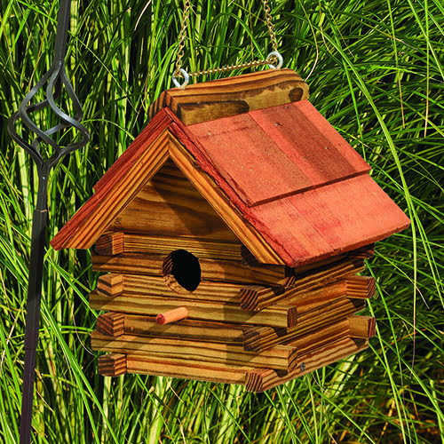 lcbhcr log cabin bh with cedar roof
