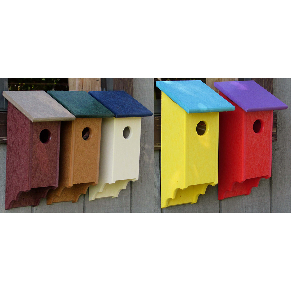 pffbh poly flip front birdhouse earthtones and bright copy